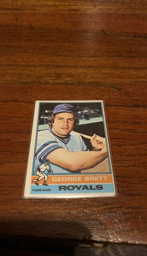 George brett second year card for Sale in Madison, NJ