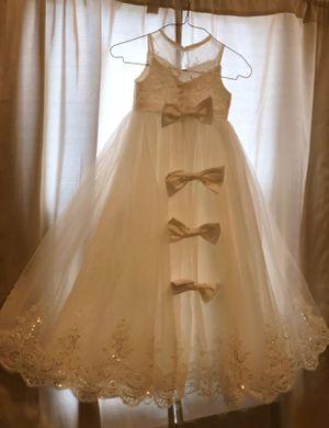 Two new white flower girls dresses for Sale in Detroit, MI