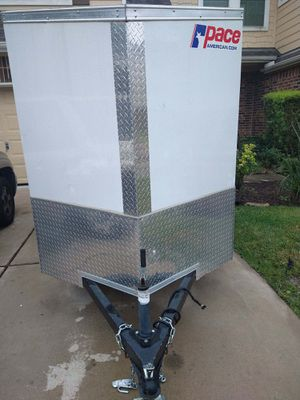 Pace enclosed toy hauler for Sale in Katy, TX