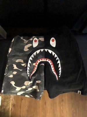 Bape shark shorts city camo for Sale in La Mesa, CA