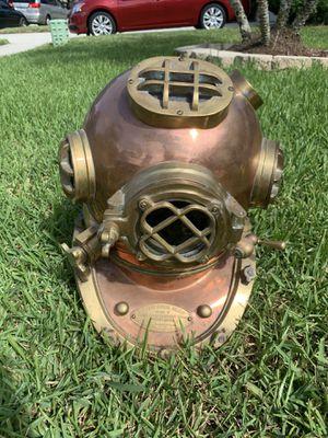 Great condition U.S navy diving helmet for Sale in Orlando, FL
