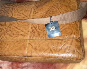 Frye leather messenger bag new never used for Sale in Hillside, IL