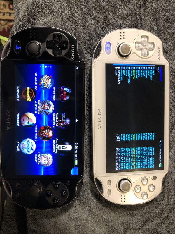 Ps vita 1000 with 100+ games 128gb
