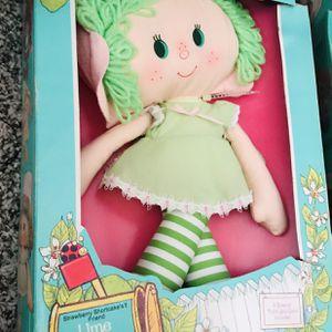 Vintage 1981 Lime Chiffon Strawberry Shortcake Rag Doll for Sale in San Diego, CA