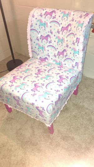 Unicorn accent chair for Sale in Grosse Pointe Park, MI