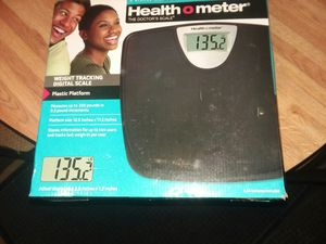 Bathroom scales brand new never taken out of box for Sale in Huntington, IN