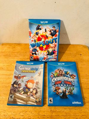 Wii u games for Sale in Ontario, CA
