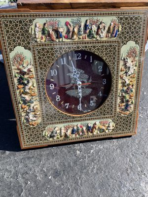 Persion miniature clocks from 1960s for Sale in Vallejo, CA