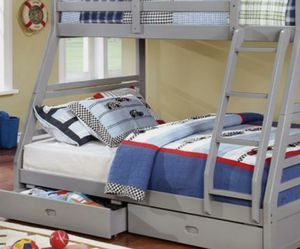 Bunk Beds Twin Over Full - $40/month for Sale in Littleton, CO