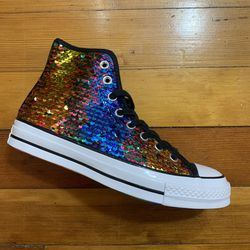 NEW Converse Chuck 70 Hi Pride Sequined Rainbow for Sale in Saint Paul,  MN