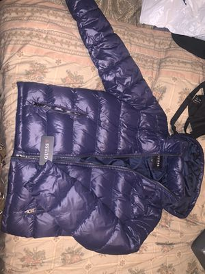 Men's Guess Coat Never Worn! (LARGE) for Sale in Fort Washington, MD