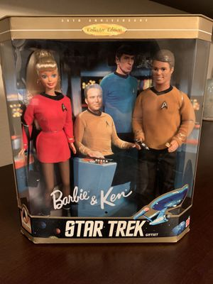 NIB 1996 30th Anniversary Star Trek Barbie set for Sale in Manteca, CA