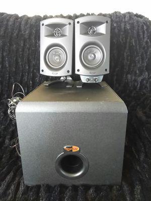 Klipsch Promedia Surround Sound System. $100 for Sale in Oakdale, CA