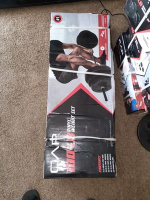 100Lb Vinyl Weight Set for Sale in Cleveland, OH