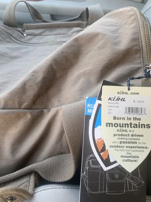 KUHL duffel bag new for Sale in McKinney, TX