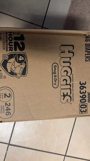 Huggies size 2 for Sale in Lehigh Acres, FL