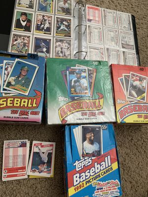 80s and 90s baseball cards around a Thousand cards for Sale in Avondale, AZ