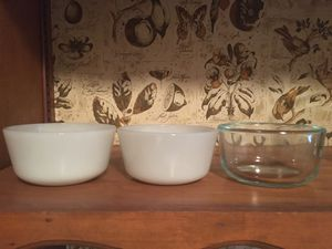 Pyrex & Anchor Hocking/Fire King Ramekins - $5 for ALL for Sale in Huntington Park, CA