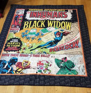 MARVEL COMICS RETRO QUILTED WALL HANGING for Sale in Butte, MT