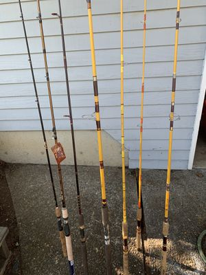 Fishing Pole and reel, Salt and freshwater gear for Sale in Tigard, OR