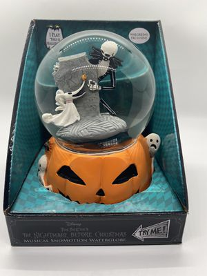 Nightmare Before Christmas globe for Sale in Colma, CA