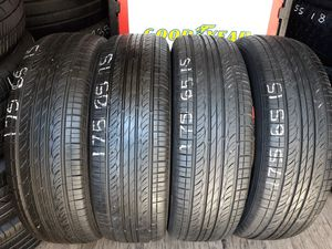 4 USED TIRES 175 65 15 HANKOOK OPTIMO 90% TREAD $150 ALL 4 INSTALLED AND BALANCED for Sale in San Diego, CA