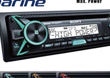 Sony MEXM100BT CD Receiver Bluetooth and SiriusXM 100w x 4 =400w for Sale in Dallas,  TX