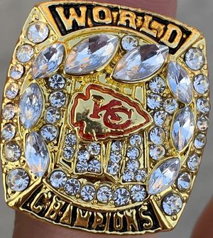 2019 Kansas City Chiefs Championship Ring Size 11 for Sale in El Paso, TX