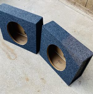 $70 / 2 brand new 12 inch sub boxes for truck for Sale in Sanger, CA