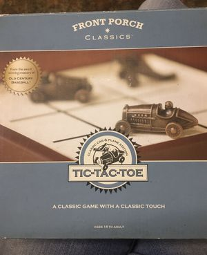 Front Porch Classics Tic Tac Toe Classic Car and Planes Edition for Sale in Fort McDowell, AZ