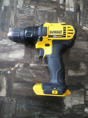 Dewalt 20 volt drill driver (tool only) no battery no charger for Sale in Garner, NC