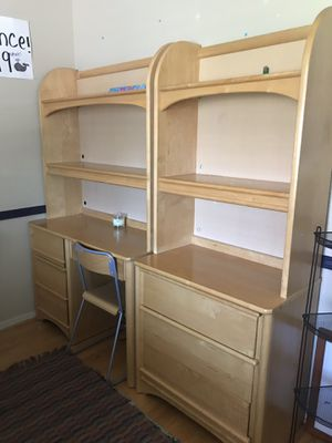 Stanley brand dresser, desk chair and bookshelves. $250 /obo for Sale in San Jose, CA