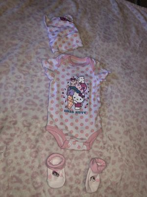 Hello kitty outfit 0 to 6 months for Sale in Phoenix, AZ