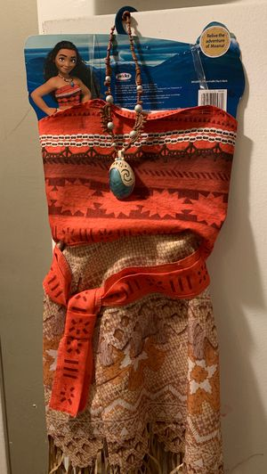Disney Moana costume for Sale in Los Angeles, CA