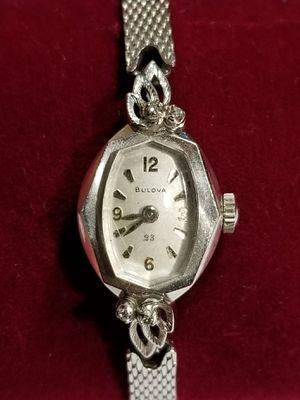 Vintage Art Deco 23 Jewels Bulova Ladies Watch for Sale in Hemet, CA
