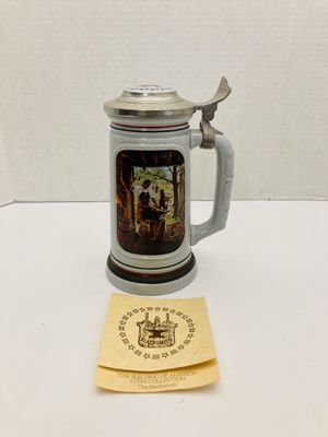 Vintage 1985 Avon Stein The Blacksmith Building of America Collectible Beer Stein for Sale in Spring Hill, FL