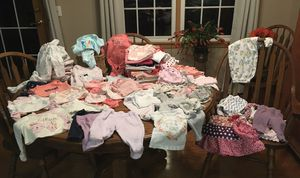 Baby clothes (girl) diapers & bottles for Sale in Monett, MO
