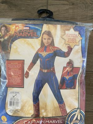Captain Marvel Costume for Sale in Richmond, TX