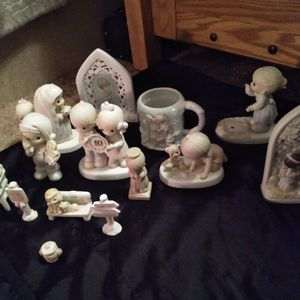 Precious Moments Porcelain Figurines for Sale in Lubbock, TX