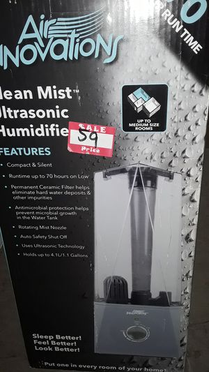 Clean Mist ultrasonic Humidifier for Sale in Boynton Beach, FL