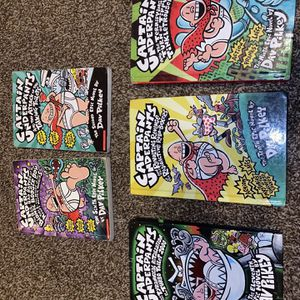 Captain Underpants Children's Book Set(Some Hard Cover And Regular) for Sale in Dearborn, MI