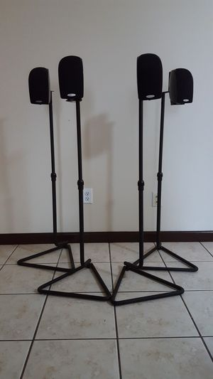 4 polk audio surround speakers for Sale in Houston, TX