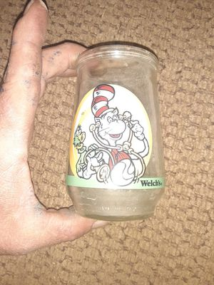 Welchs cat in the hat jelly jar for Sale in Queen Creek, AZ