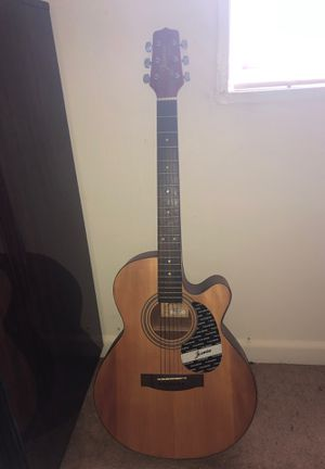 Jasmine Takamine S4EC Acoustic Guitar Looks good sounds great barley used for Sale in Silver Spring, MD