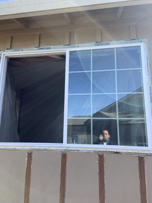 3 dual glass vinyl windows in good USED condition for Sale in San Jose, CA
