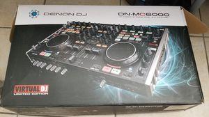 Denon DJ DN-MC6000 with customized flight case for Sale in Miami, FL