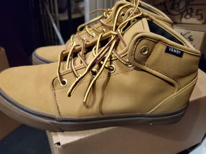 VAN BEIGE BOOTS BRAND NEW OUT OF BOX Men size 9.5 for Sale in Croydon, PA