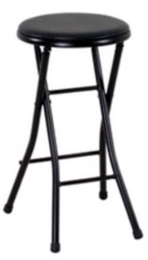 New!! Set of 4 folding black stools for Sale in Tempe, AZ