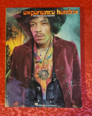 Jimi Hendrix Experience Sheet Music Transcribed Score guitar bass drums tab book for Sale in Charlotte, NC