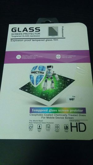 """Tempered glass for Acer Iconia tab8 or any tablet 8"""" for Sale in Phoenix, AZ"""